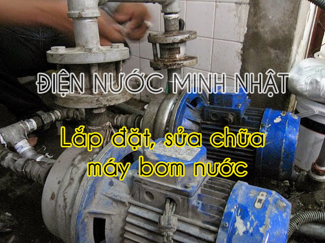 lắp đặt sửa chữa máy bơm nước
