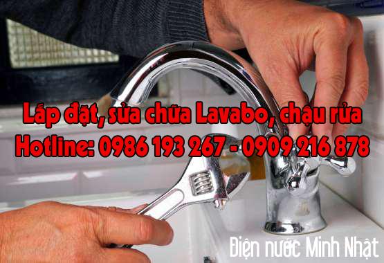sửa chữa lắp đặt Lavabo