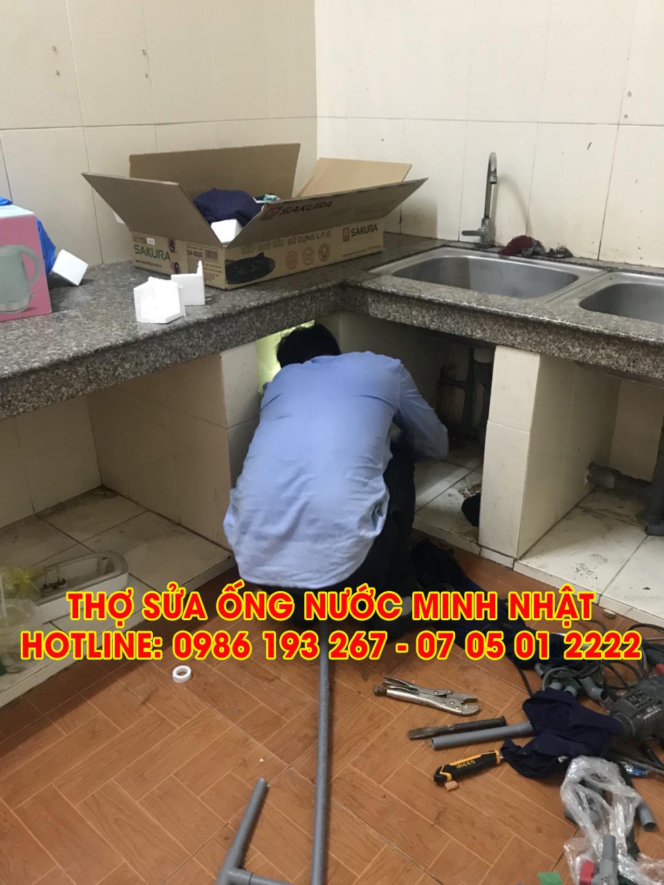 Thợ sửa ống nước Minh Nhật